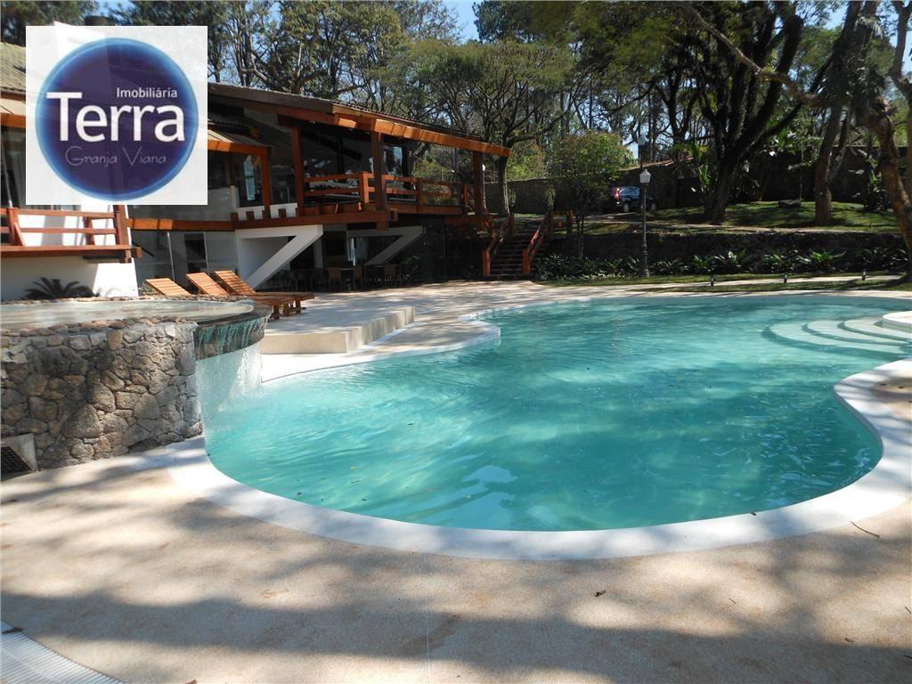 Loft com 1 dormitório à venda, 57 m² por R$ 350.000 - Le Grand Viana - Granja Viana.
