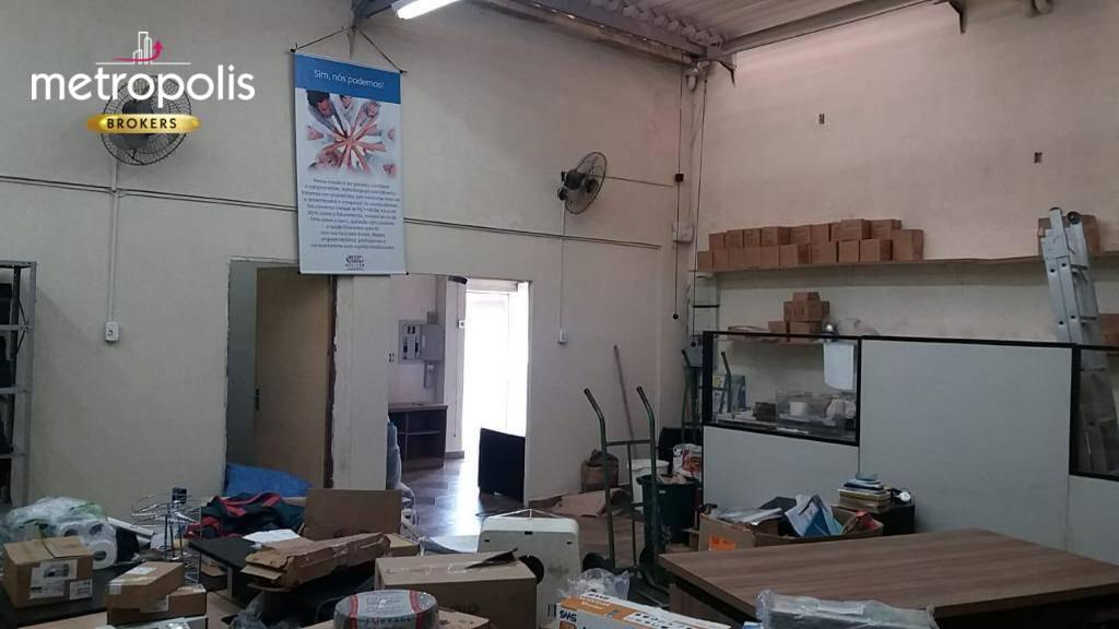 Galpão à venda, 185 m² por R$ 650.000,00 - Santa Paula - São Caetano do Sul/SP