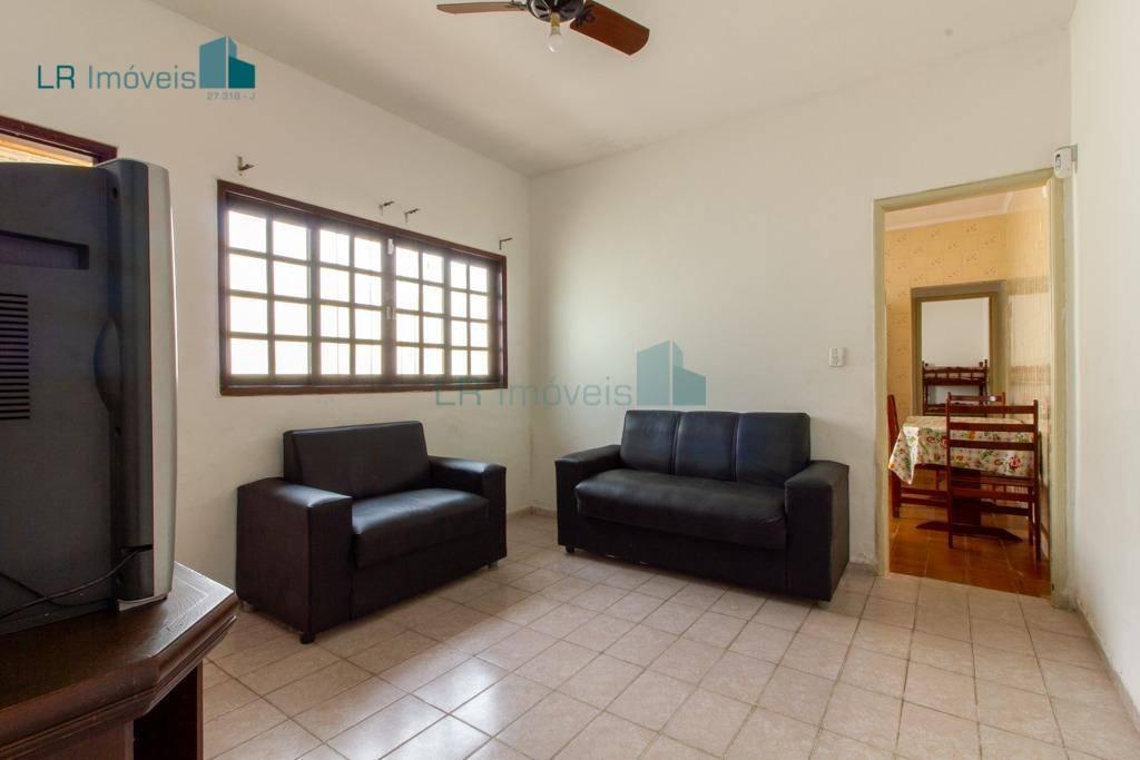Casa com 2 dormitórios para alugar, 180 m² por R$ 350/mês - Vila Mirim - Praia Grande/SP