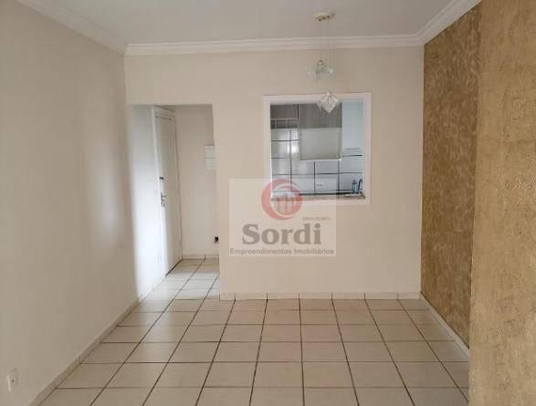 Apartamento com 3 dormitórios à venda, 67 m² por R$ 270.000 - Parque Residencial Lagoinha - Ribeirão Preto/SP