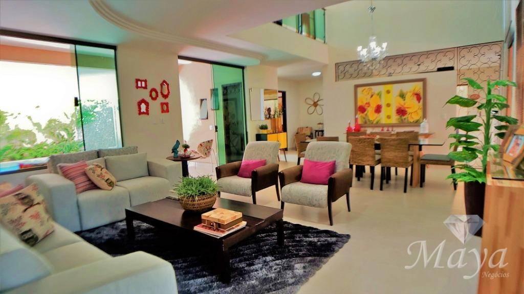 Sobrado 4 Quartos, 320 m² c/ lazer à venda na 404 Sul