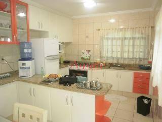 Sobrado Residencial à venda, Vila Tibiriçá, Santo André - SO0025.