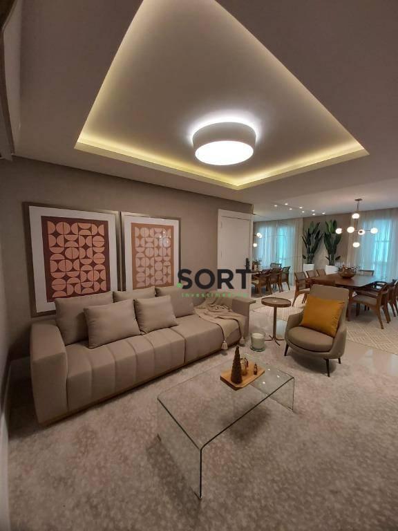 Dimora del Sole, apartamento quadra mar, 03 suítes e 02 vagas de garagem.