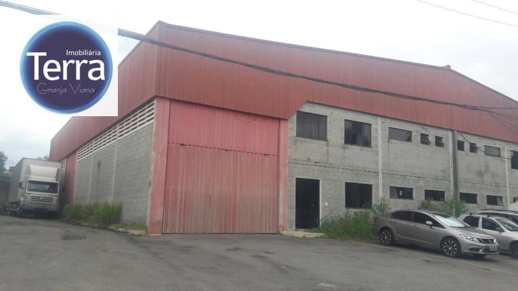 Galpão para alugar, 605 m² por R$ 11.000,00/mês - Rio Cotia - Cotia/SP