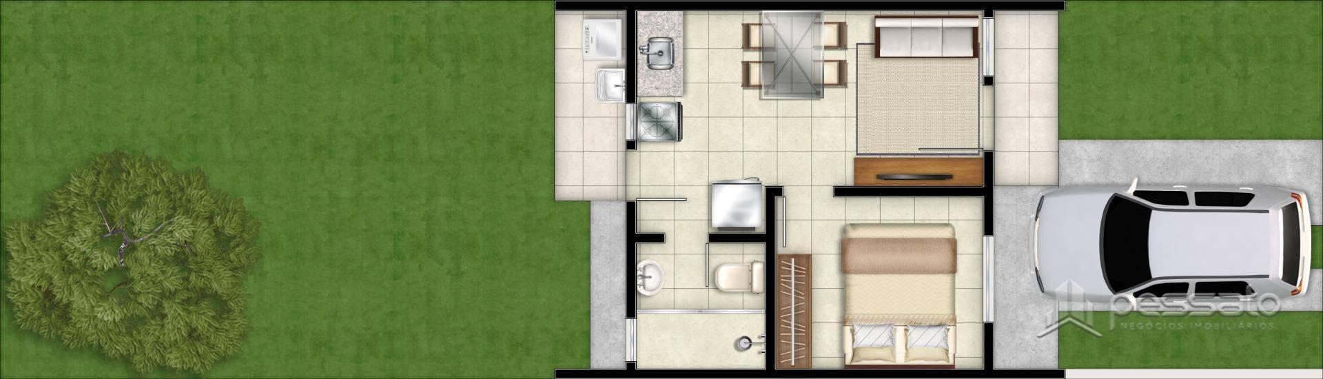 casa 2 dormitórios em Cachoeirinha, no bairro Jardim Betânia