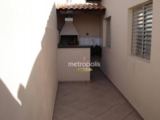Casa com 2 dormitórios à venda, 124 m² por R$ 620.000,00 - Conjunto Residencial Nova Roma - São Bernardo do Campo/SP