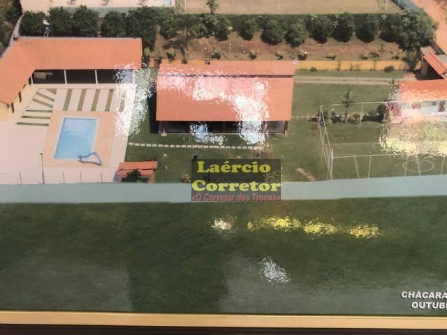 Chácara com 3 dormitórios à venda, 2500 m² por R$ 1.250.000 - Chácara Recreio Lagoa dos Patos - Jundiaí/SP. Estuda permutas por imóvel de menor valor.