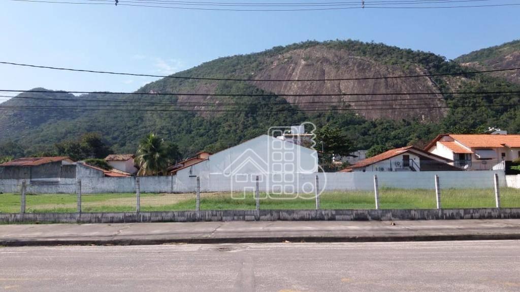 Área, 3002 m² - venda por R$ 4.000.000,00 ou aluguel por R$ 20.000,00/mês - Itaipu - Niterói/RJ