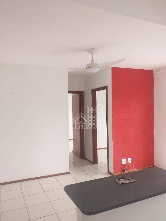 Apartamento com 2 dormitórios à venda, 57 m² por R$ 238.000,00 - Neves - São Gonçalo/RJ
