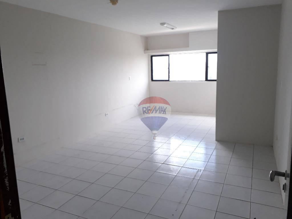 Sala para alugar, 31 m² por R$ 1.200/mês - Ilha do Leite - Recife/PE