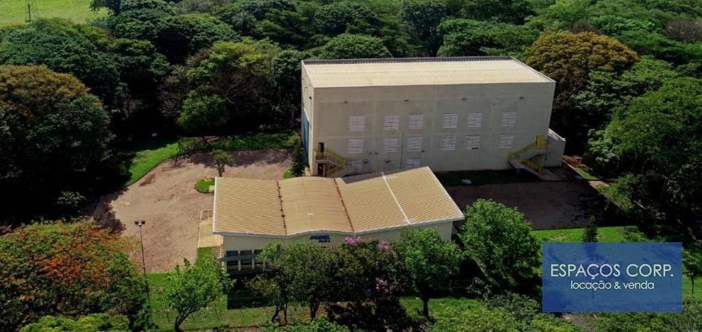 Galpão industrial, 1864m² - venda ou aluguel - Vila Sedenho - Araraquara/SP