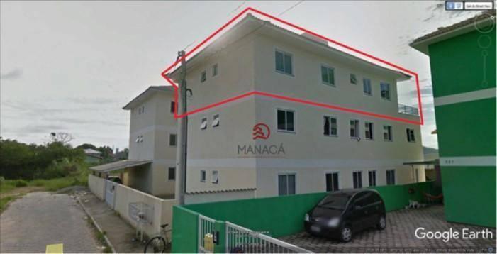 Apartamento com 3 dormitórios à venda por R$ 295.000 - Ingleses do Rio Vermelho - Florianópolis/SC