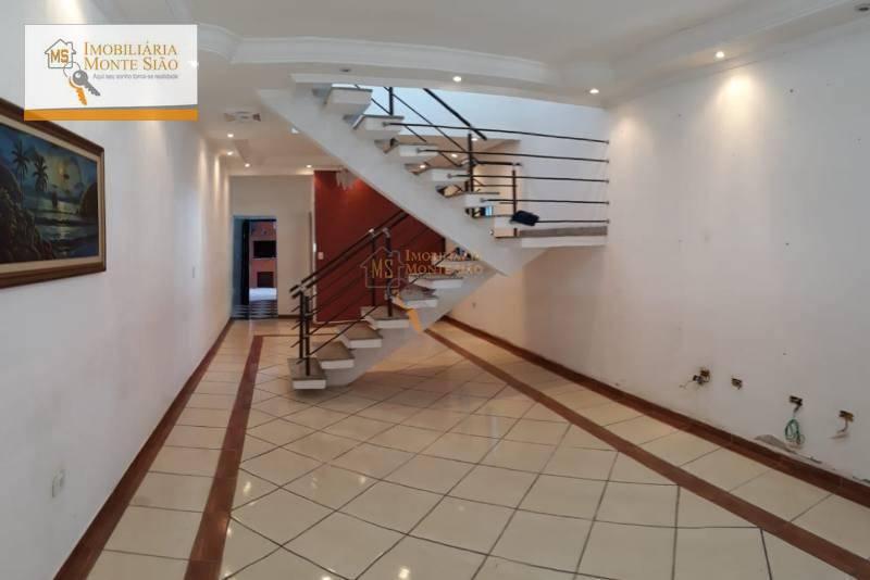 Oportunidade Sobrado com 3 dormitórios, 169 m² - Jardim Bela Vista - Guarulhos/SP