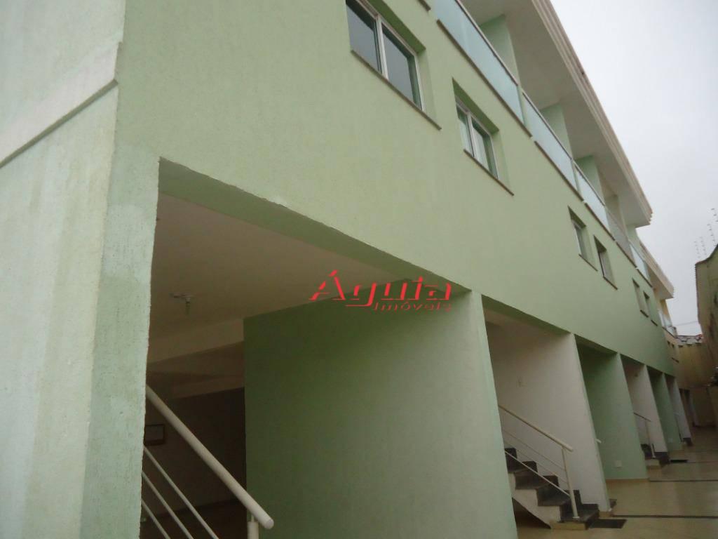 Sobrado com 2 dormitórios à venda, 90 m² por R$ 280.000 - Vila Floresta - Santo André/SP