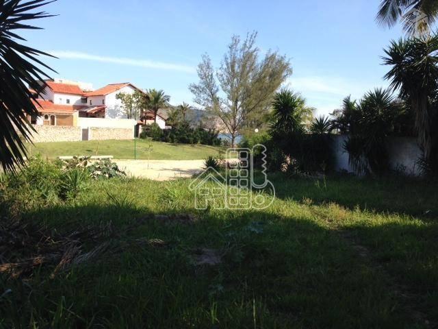 Terreno à venda, 720 m² por R$ 3.200.000,00 - Camboinhas - Niterói/RJ