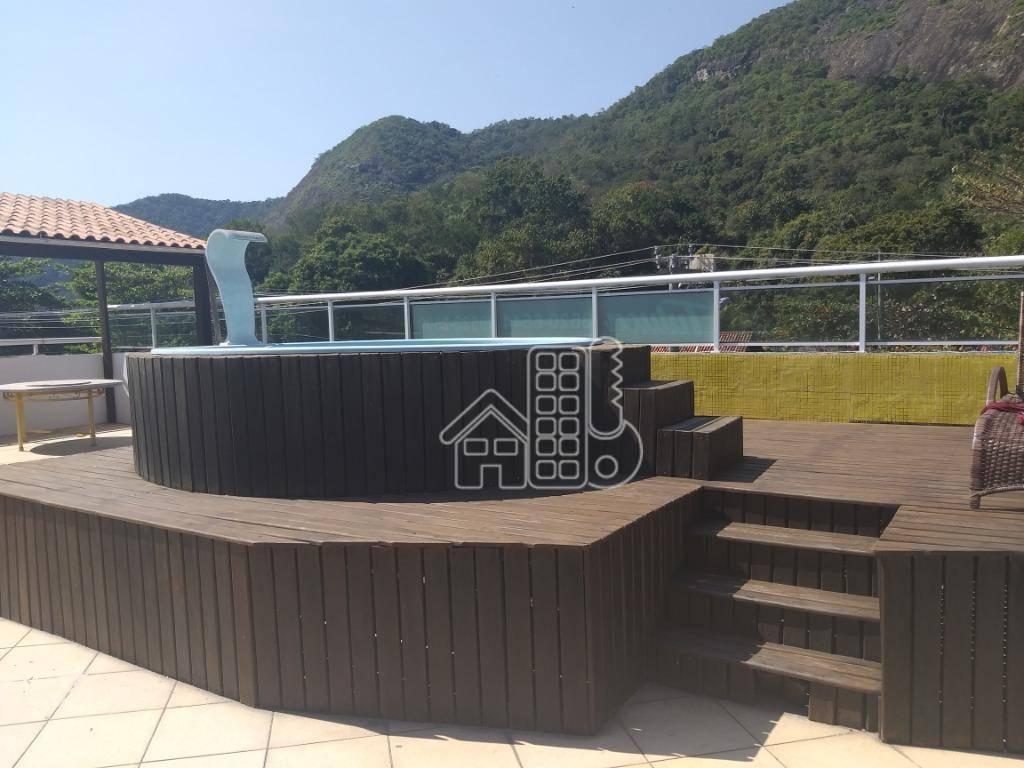 Pousada com 14 dormitórios à venda, 1100 m² por R$ 2.200.000,00 - Itacoatiara - Niterói/RJ