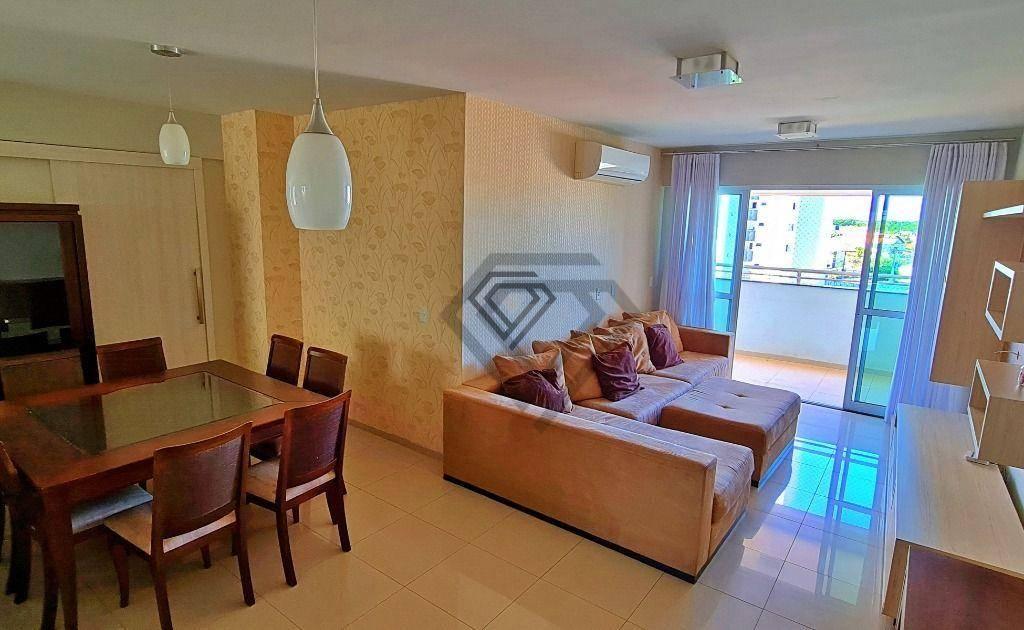 Apartamento 3 Suítes, 110 m² mobiliado, à venda na 205 Sul - Res. Moriah