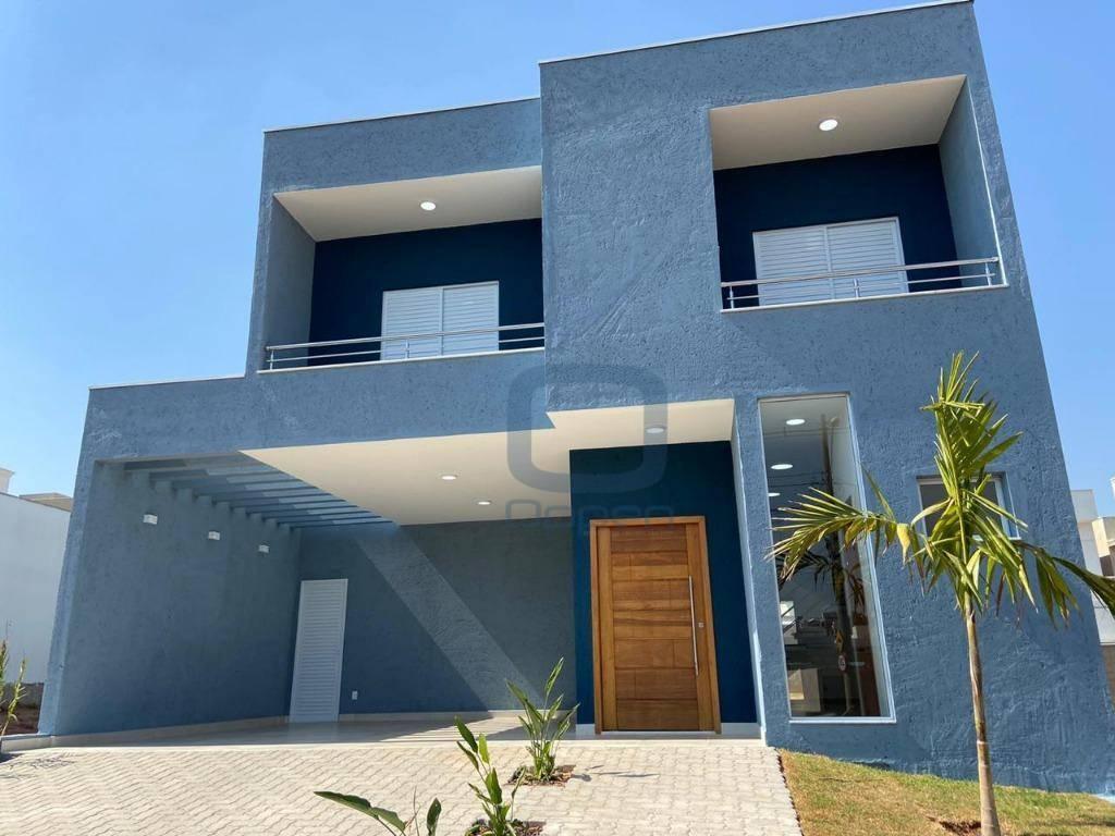 Casa com 3 dormitórios à venda, 160 m² por R$ 740.000,00 - Residencial Real Parque Sumaré - Sumaré/SP