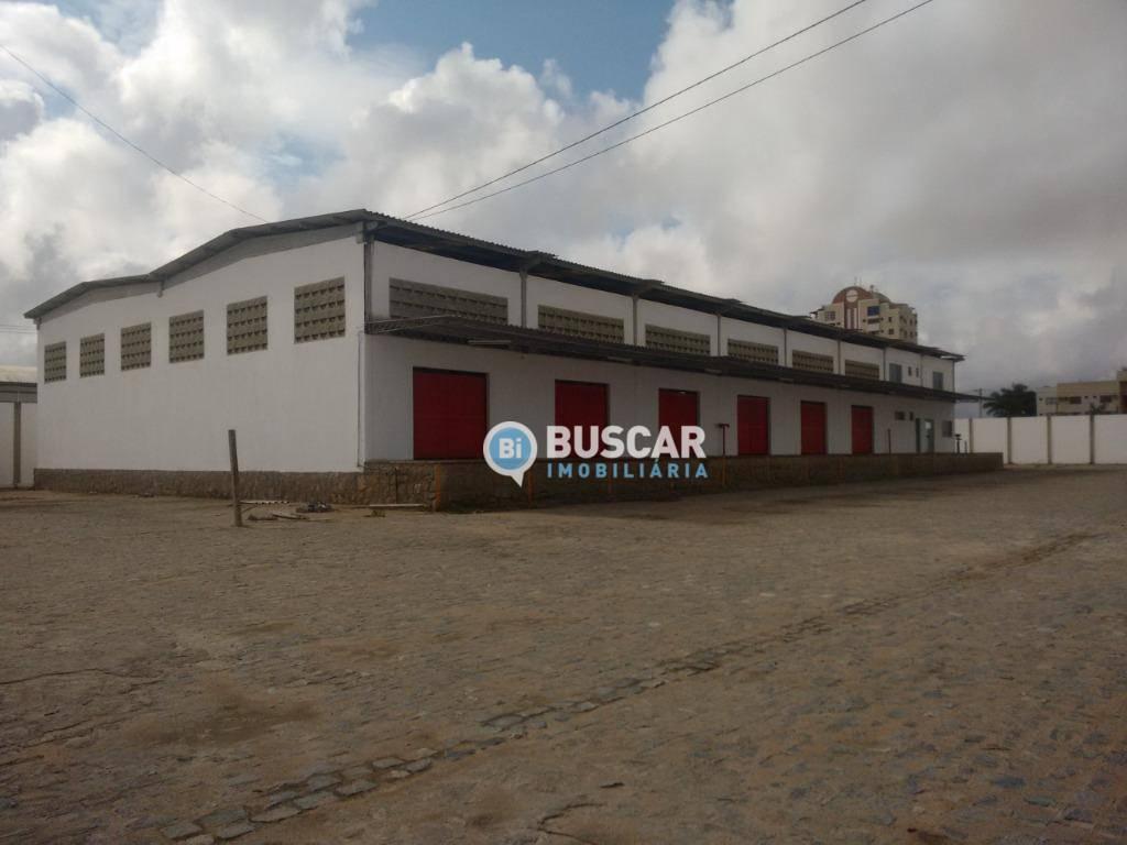 Galpão, 1454 m² - venda por R$ 6.500.000 ou aluguel por R$ 32.000/mês - Queimadinha - Feira de Santana/BA