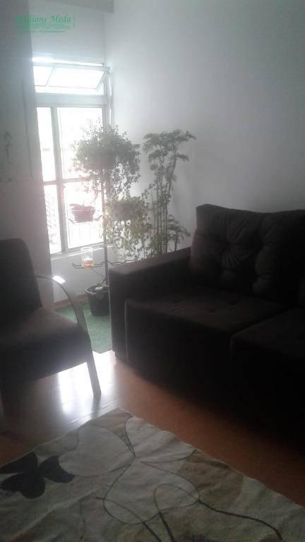 Apartamento com 2 dormitórios à venda, 53 m² por R$ 220.000,00 - Vila Rio de Janeiro - Guarulhos/SP