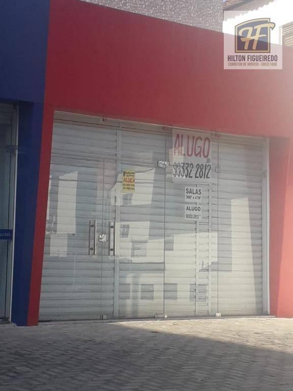 Alugo loja 47 m², vizinho à praça do caju, Bessa R$ 2000