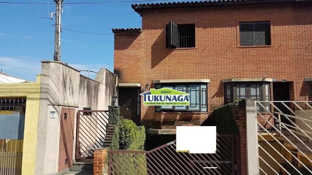 Sobrado residencial para venda e locação, Jardim Barbosa, Guarulhos.