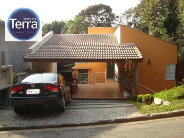 Casa residencial à venda, Vila Verde, Granja Viana.