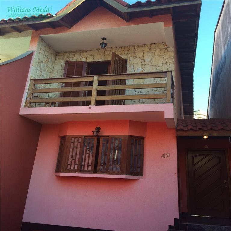 Sobrado residencial à venda, Vila Rosália, Guarulhos - SO0618.
