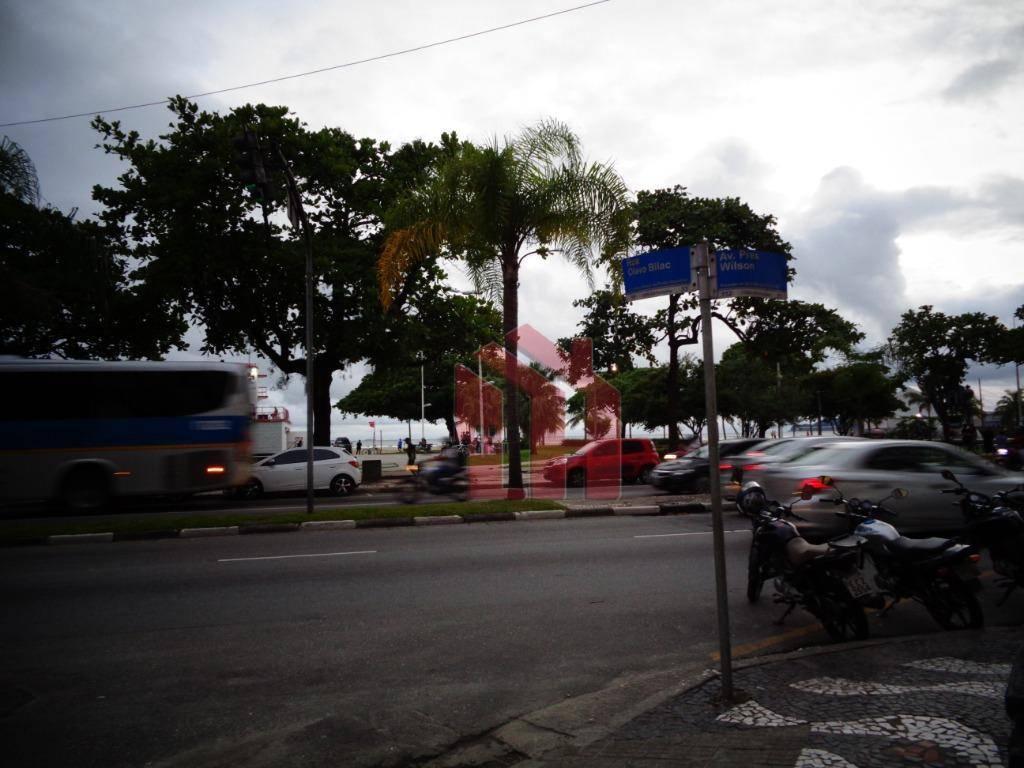 Ponto à venda, 80 m² por R$ 195.000,00 - José Menino - Santos/SP