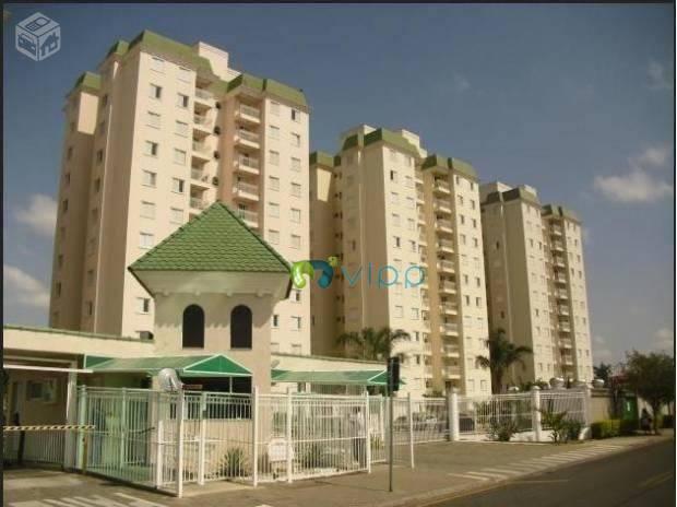 Apartamento residencial à venda, Jardim Nova Indaiá, Indaiatuba.