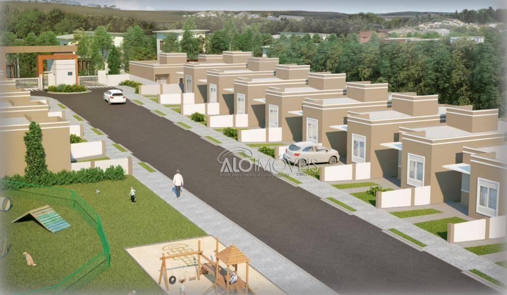 Casa com 3 dormitórios à venda, 62 m² por R$ 190.000 - Capela Velha - Araucária/PR