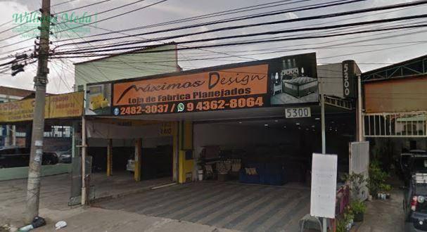 Salão comercial à venda, 250 m² por R$ 750.000 - Cidade Jardim Cumbica - Guarulhos/SP