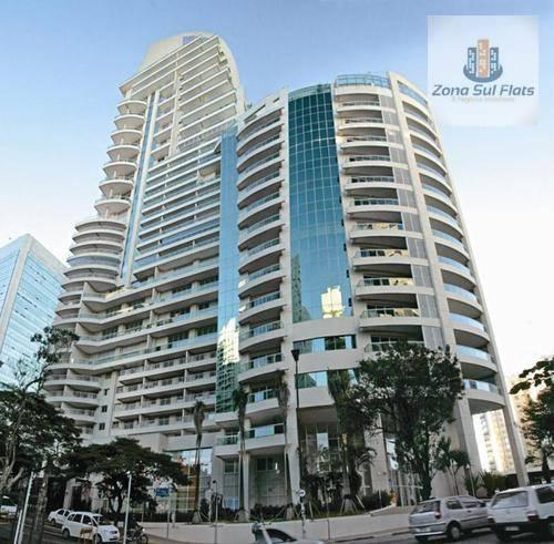 Apartamento Estilo Flat Impecável Para Locação Próximo à Av. Paulista - Ed. Çiragan!