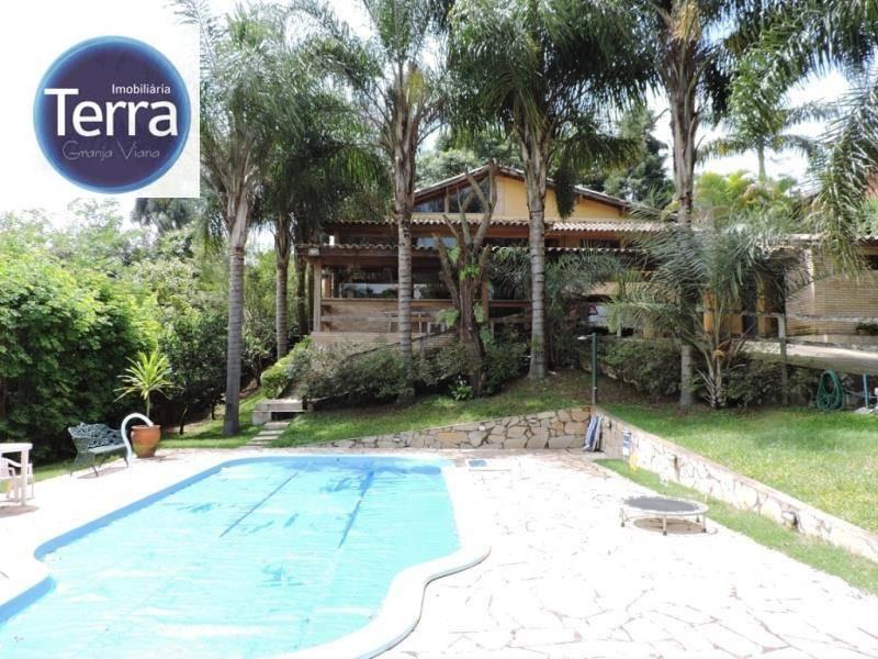 Casa  residencial à venda, Chácara Vale do Rio Cotia, Granja Viana.