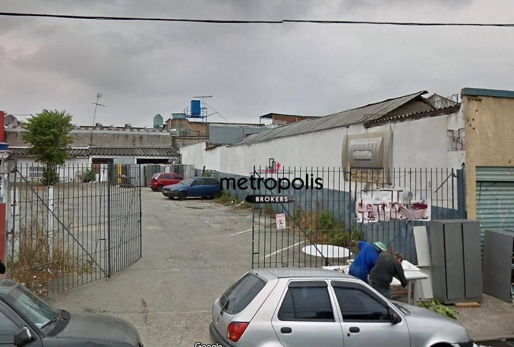 Terreno à venda, 487 m² por R$ 2.500.000 - Centro - São Caetano do Sul/SP