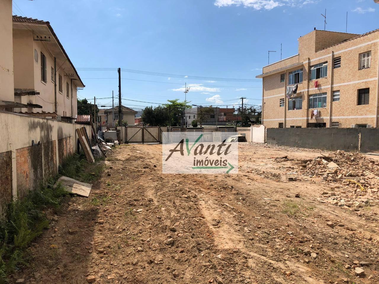 Terreno para alugar, 880 m² por R$ 18.000,00/mês - Embaré - Santos/SP
