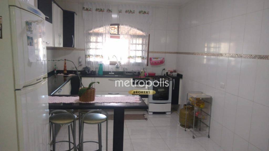 Sobrado à venda, 228 m² por R$ 510.000,00 - Jardim Quarto Centenário - Mauá/SP