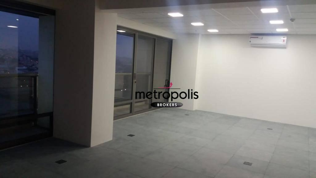 Sala para alugar, 130 m² por R$ 5.400/mês - Cerâmica - São Caetano do Sul/SP