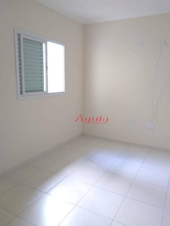 Sobrado residencial à venda, Jardim Santo Antônio, Santo André - SO0323.