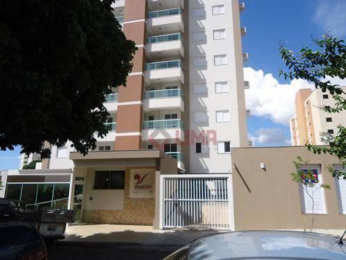 Apartamento residencial à venda, Vila Altinópolis, Bauru.