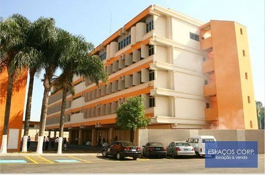 Laje comercial para locação, 1.230m² - Jardim Brasil - Santana de Parnaíba/SP