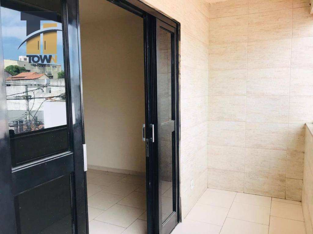Apartamento com 2 dormitórios para alugar, 80 m² por R$ 900,00/mês - Nova Cidade - São Gonçalo/RJ