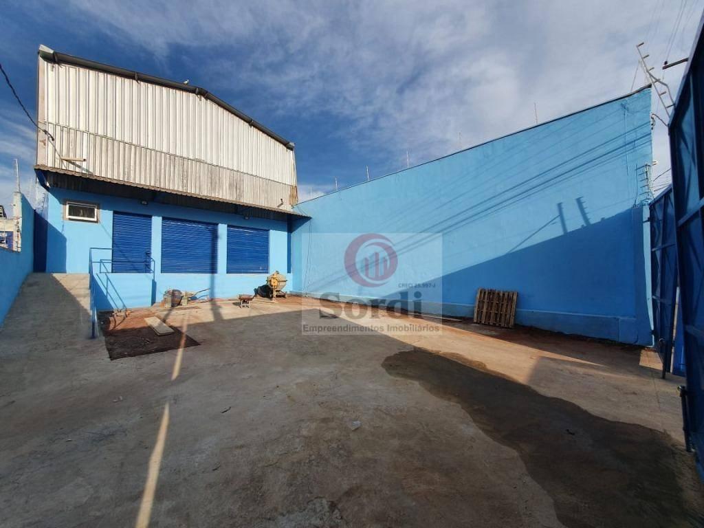 Galpão à venda, 165 m² por R$ 500.000,00 - Ipiranga - Ribeirão Preto/SP