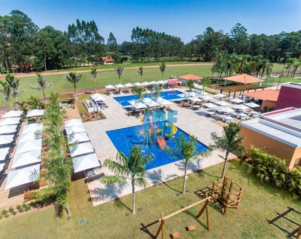 Terreno à venda, 1187 m² por R$ 130.000 - Santa Bárbara Resort Residence - Águas de Santa Bárbara/SP - TE0721.
