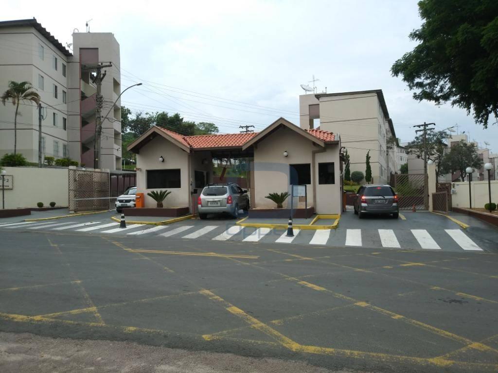 Apartamento com 2 dormitórios para alugar, 55 m² por R$ 900/mês - Jardim Bom Retiro - Valinhos/SP