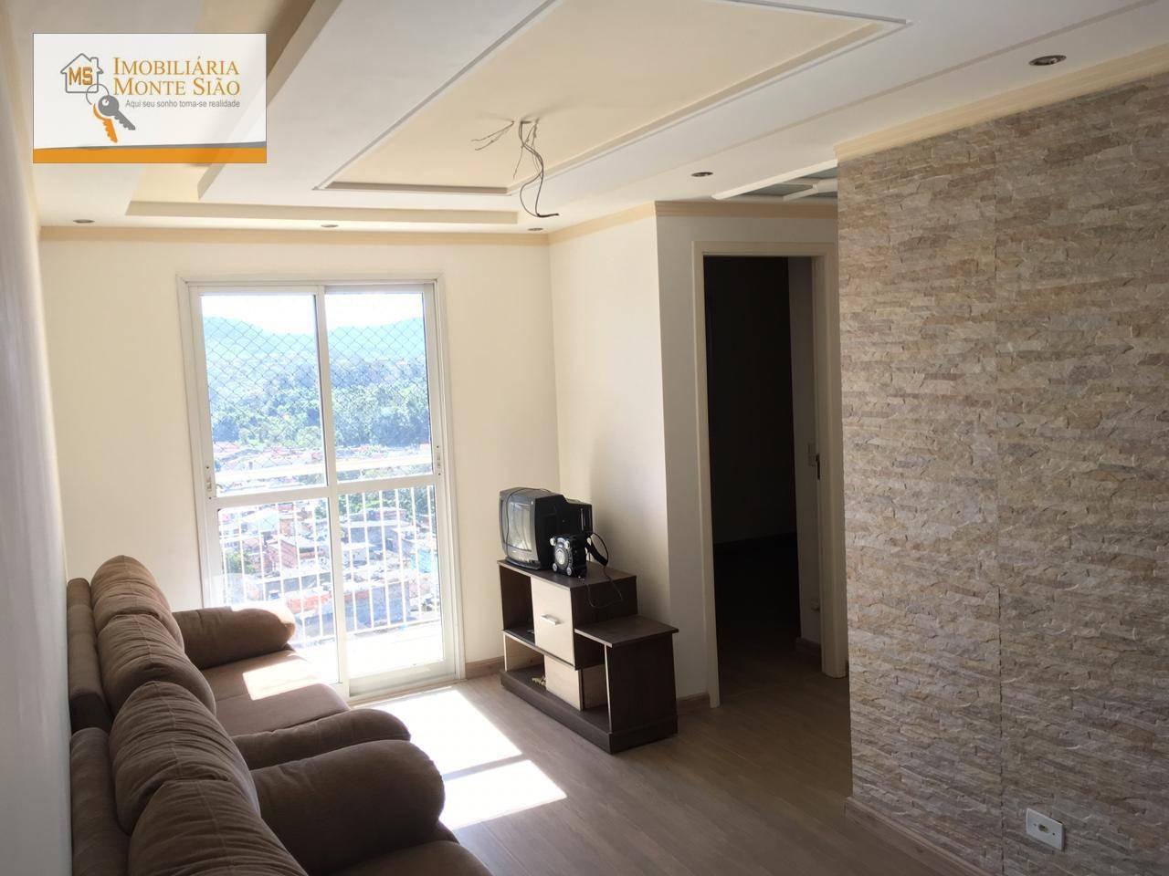 Apartamento com 2 dormitórios para alugar por R$ 1.500/mês - Jardim Capri - Guarulhos/SP
