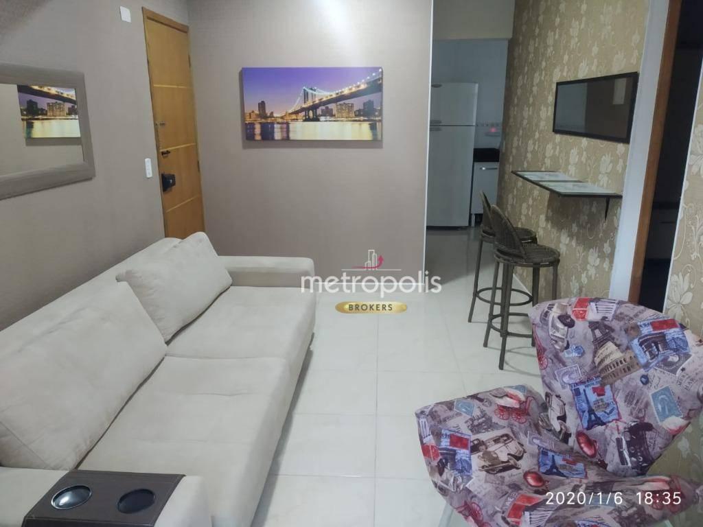 Apartamento à venda, 50 m² por R$ 260.000,00 - Vila Voturua - São Vicente/SP
