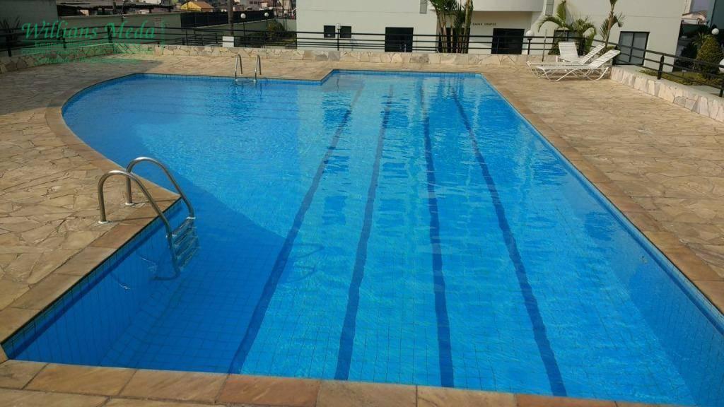 Apartamento com 3 dormitórios (1 suíte) à venda, 68 m² por R$ 330.000 - Vila Augusta - Guarulhos/SP