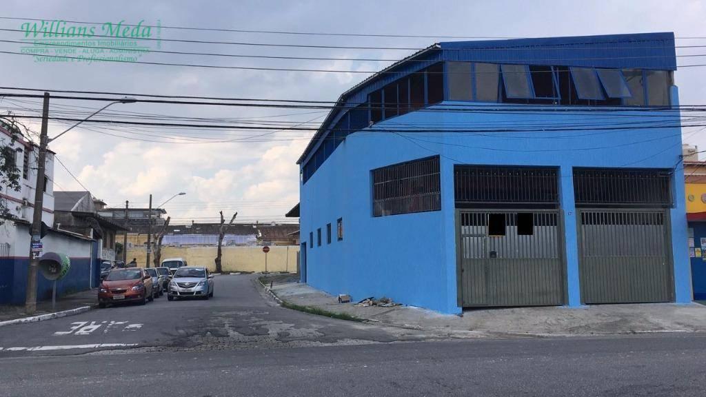 Prédio comercial para venda e locação, Vila Endres, Guarulho