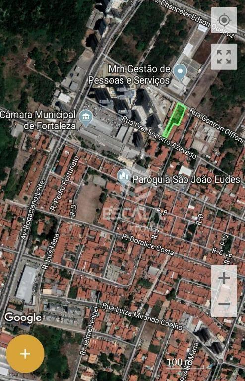 Terreno à venda, 1790 m² por R$ 2.750.000 - Engenheiro Luciano Cavalcante - Fortaleza/CE
